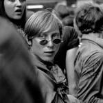 Jugendlicher bei einem Happening in Schwabing, 1967 | Youth during a happening in Schwabing, 1967