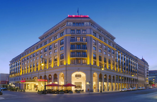 The Westin Grand Berlin Außenansicht